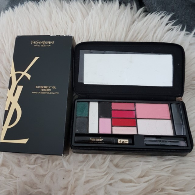 Ysl extremely tuxedo make up essential pallete