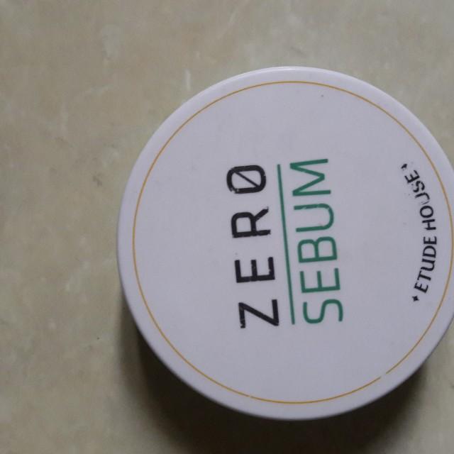 Zero sebum etude house