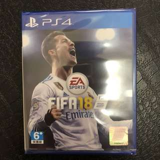 [SALE] BNIB FIFA 18 PS4