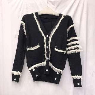 秋季限量貨品👚東大門韓國款針織簡約設計外套