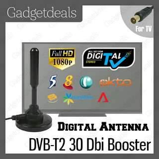 DIGITAL TV ANTENNA FOR DVB-T2 DVB-T2 DIGITAL READY HD TV WITH 3 METER CABLE