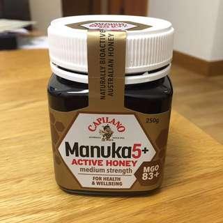 [購自澳洲🇦🇺] Capilano Manuka 5+ Active Honey 麥蘆卡蜂蜜 Australian honey