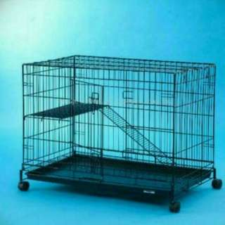 CAGE ON CLEARANCE - MEDIUM one TIER CAGE EXTRA wider