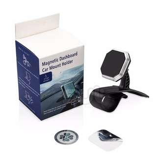 HUD Design Universal Magnetic Car Dashboard Phone Holder(Octagon)