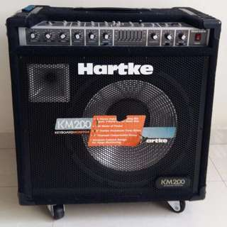 Hartke Amp KM200 for Keyboard, E-Drums, Combo
