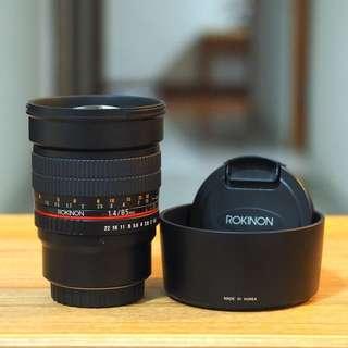 Rokinon 85mm f1.4 (MFT)