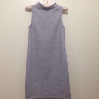 Grey Dress for Petite Girls