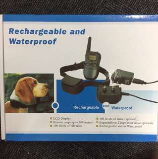 Training Collar Rechargeable And Waterproof