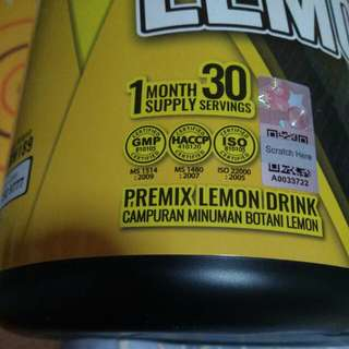 Lemonex. Lemonex 💯 ORIGINAL 💯.Ready Stock  with shaker 👍  add $6.00 delivery to your door Steps. Tq