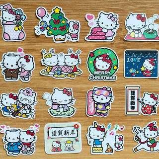 Hello Kitty Xmas Celebrations Planner / Scrapbook Stickers #9