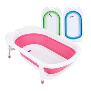 全新可摺疊式嬰兒洗澡浴盆/浴盤