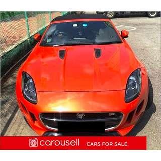 Jaguar Jaguar F-Type 3.0SC S ST2 Convertible