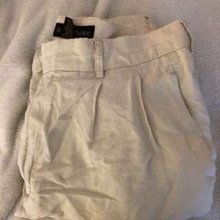 Vintage linen dress pants