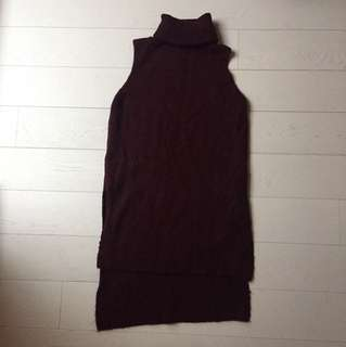 Small Zara Maroon Turtleneck