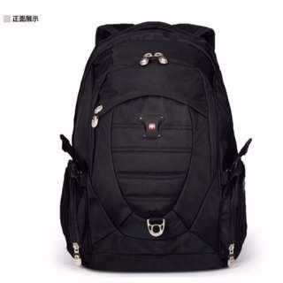 【快速出貨】正新品現貨SWISS GEAR瑞士軍刀雙肩 筆記型電腦背包15寸商務男女旅行背包 SG-09