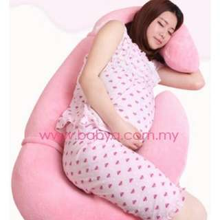 (Reduce Price) EXTRA FIRM Baby A 8 in 1 Total Body Support Pregnancy and Nursing Pillow (Pink)