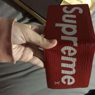 supreme louis vutton wallet