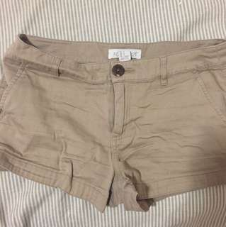 Tan forever 21 shorts