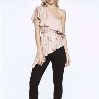 Bardot Waterfall Top (brand/n with tag)