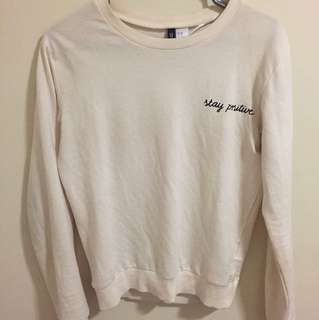H&M light pullover