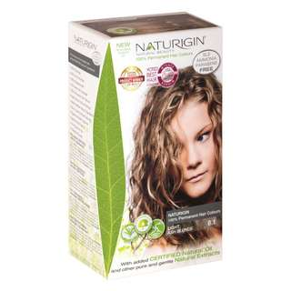 SAVE OVER 22%!  NATURIGIN (8.1 LIGHT ASH BLONDE) 100% PERMANENT ORGANIC HAIR COLOR