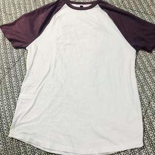 TOPSHOP/ TOPMAN ringer shirt