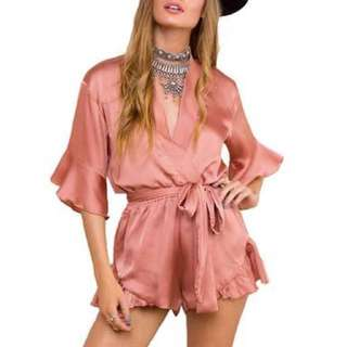 Cute Wee Dotti Playsuit