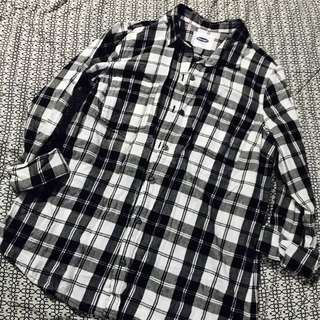 OLD NAVY button-up flannel shirt