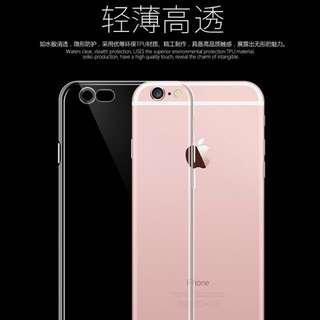 🚚 *D.B.A*iphone6/6S硅膠透明超薄軟式4.7吋保護套