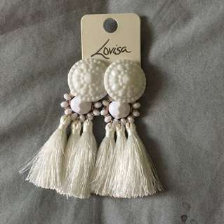 Earrings tassels