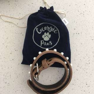 Georgie Paws Pearl Collar & Lead