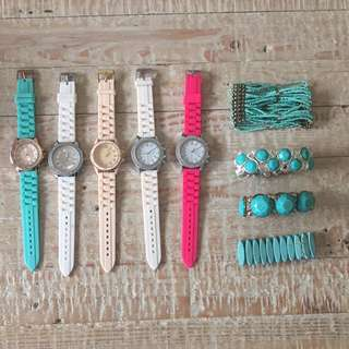 Watches +bangles