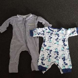 Newborn clothing.