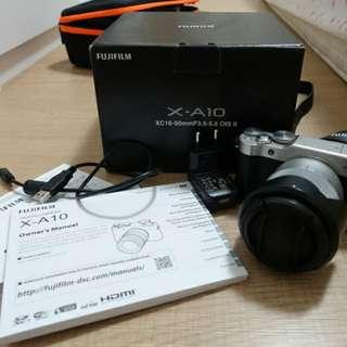 Fujifilm x-a10 + xc 16-50mm kit lens