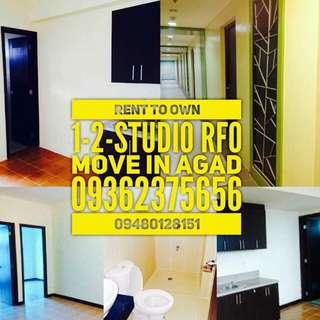 Rent To Own Condo in Mandaluyong nr.Megamall Shaw Ortigas Boni Moa Resorts World Naia Rob.Forum.Don Bosco Ortigas