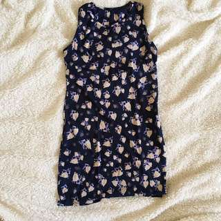 Shana Floral Fitted Dress