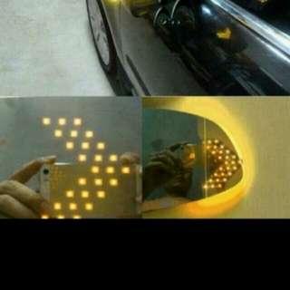 Car led side mirror signal light