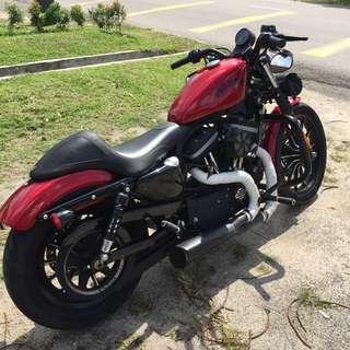Harley davidson sporster iron 883