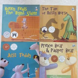 Bunny finds the right stuff and other titles