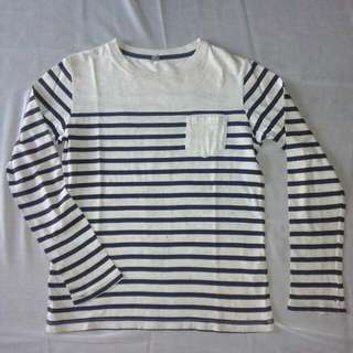 uniqlo stripe tee