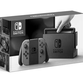 Brand new in box grey Nintendo Switch