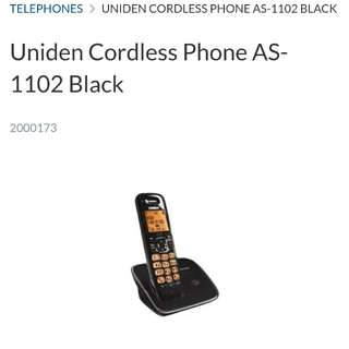 Uniden Cordless Phone AS-1102 fully functional