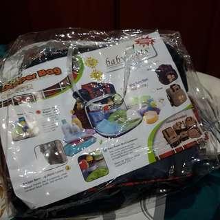 (NEW-ExKado) Diaper Bag Besar Merk Babyscots