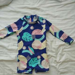 Cotton on kids uv protection swimming suit