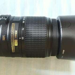 Nikon DX Afs - Nikkor 55-300 VR Lens