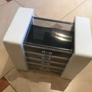 READYSTOCK BIG SIZE 4 DRAWER MAKEUP ORGANIZER