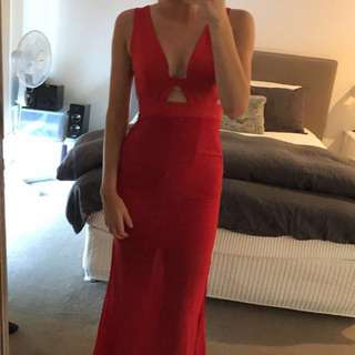 Red Mia dress