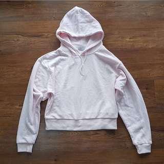 Uniqlo Short Hoodie Pink
