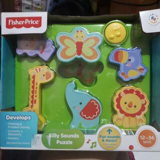 Fisher price silly sound
