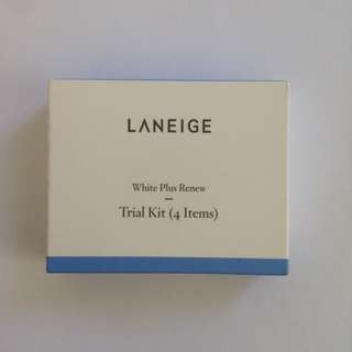 LANEIGE White Plus Renew Trial Kits (4 Items)